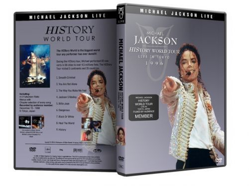 Michael Jackson : History Tour Live In Tokyo and 50 similar