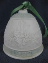 Lladro Annual Christmas Bell Ornament 1992 N15913 - $11.97