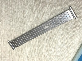 Vintage Stainless Steel expansion flex watch band 15mm 16mm 18mm 20mm - $14.01