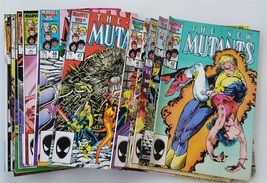 Lot Of 20 The New Mutants Comic Books #42-61 And #3 Giant Sized Annual 1987 - $42.50