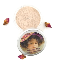 #4A Light Beige Bare Foundation Sheer Acne Cover Loose Minerals Mineral Full Sz - $14.95