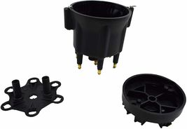 Pro Series Distributor Cap & Rotor Kit 6-Cylinder Male Black image 4