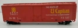 TYCO HO SCALE THE ROUTE OF EL CAPITAN BOX TRAIN 40' BOX CAR # A.T.S.F. 4... - $18.66