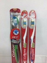 (3) Colgate Soft Toothbrush 360 Total Advanced Full Head & 2x Extra Clean - $8.50