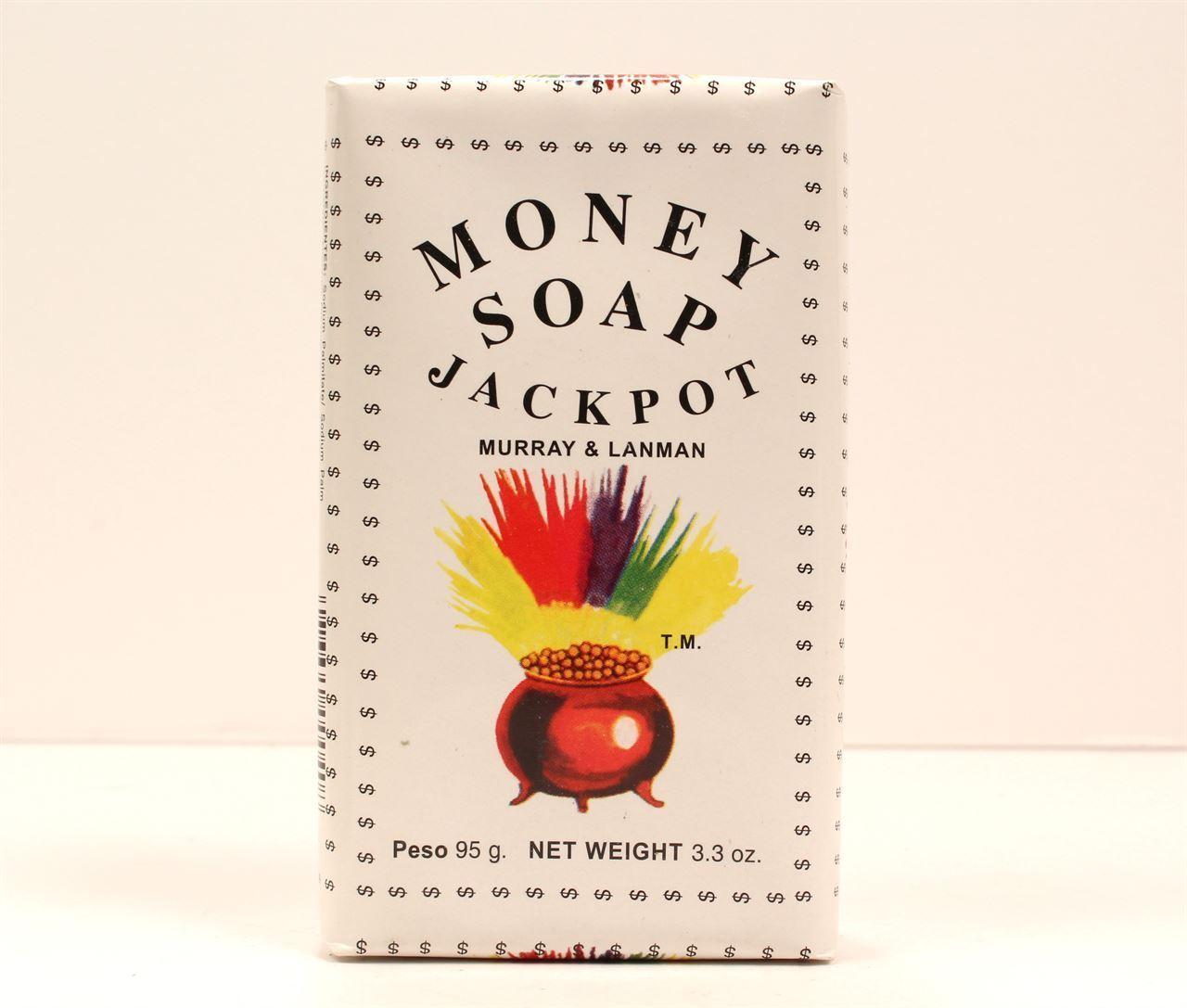 Money Jackpot Soap by Murray & Lanman  good luck