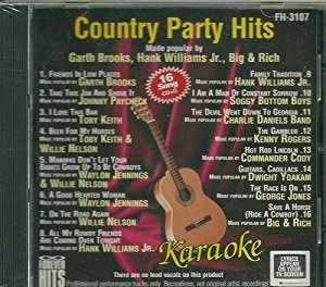 Karaoke: Country Party Hits By Various Artists Cd