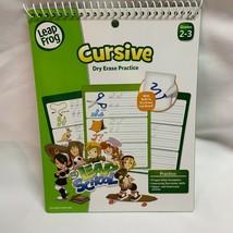 LeapFrog LeapSchool Cursive Dry Erase Practice Workbook for Grades 2-3 - $11.88