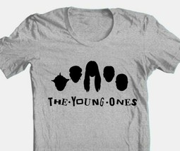 Young Ones T-shirt retro 1980s British TV show cotton blend graphic grey tee image 1
