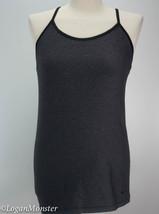 Nike L Gray Black Y Back Bra Tank Top - $30.00