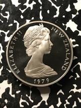 1979 New Zealand 20 Cents Lot#X3414 Proof! - $6.80