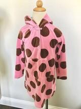 J22 MINI BODEN Girls polka-dot hooded velour dress 4-5 Years - $14.00