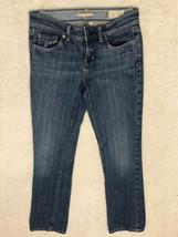Gap womens jeans size 2 R stretch boot cut blue medium wash denim - $15.72