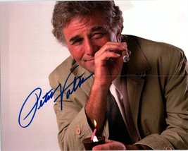 PETER FALK  Authentic Autographed Hand Signed Photo w/ COA -308 - $85.00