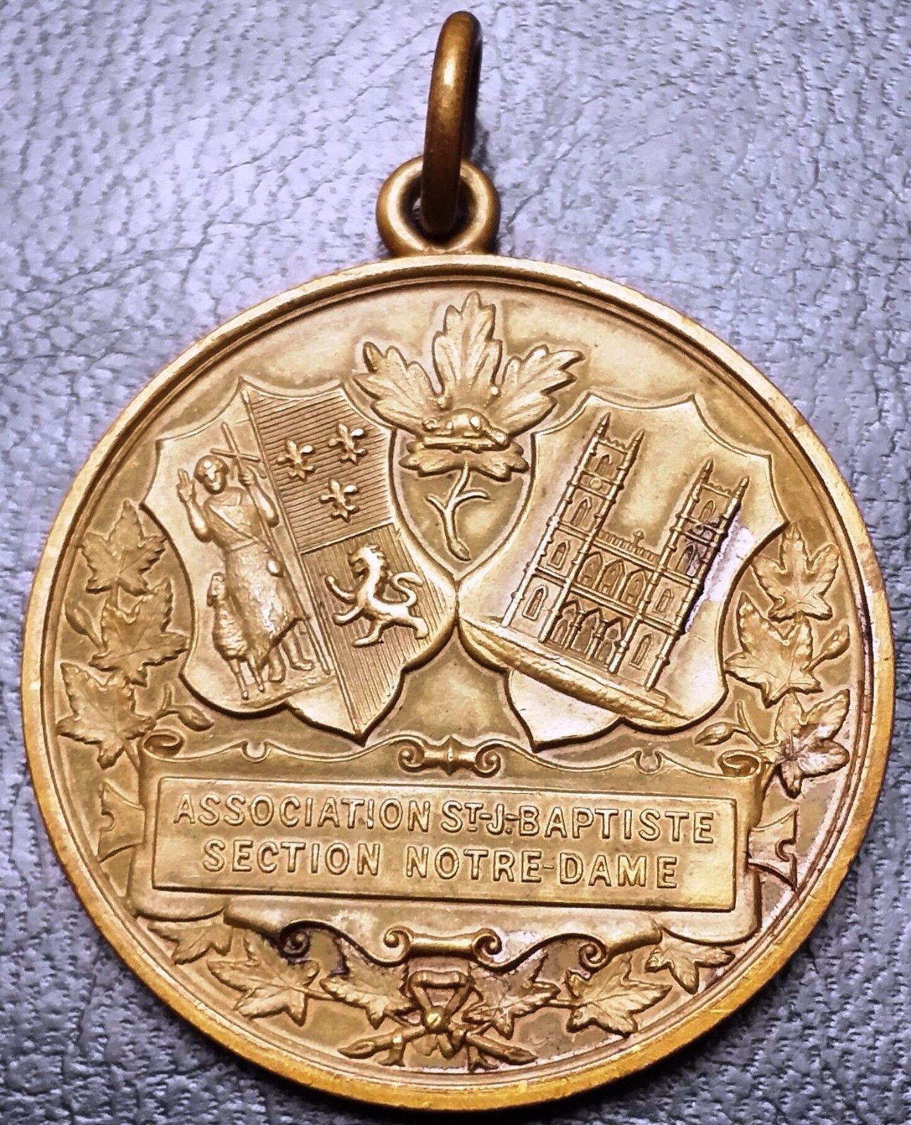 St John Cathederal New York City Medal 30mm