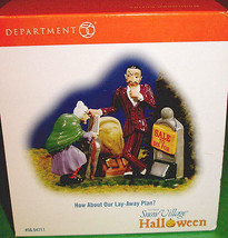 Department 56 Halloween How About Our Lay-Away Plan? Snow Village Access... - $12.90