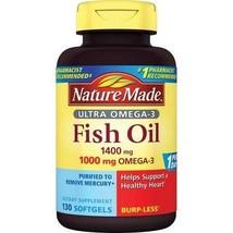 Nature Made 1400mg Ultra Omega-3 Fish Oil Softgels - $40.88