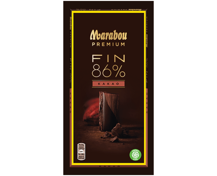 Primary image for Marabou Premium 86% Cocoa / Kakao Chocolate 10 pack 1kg / 35oz
