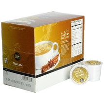 Cafe Escapes Chai Latte, 72 count Keurig K cup Pods, FREE SHIPPING  - $52.99