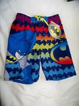 Batman Swim Trunks for Kids Boys Swim Shorts for Boys Size 4 Quick Dry - $9.99