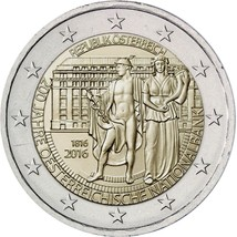 Austria 2016 -  200th Anniversary of Foundation of National Bank 2 euro ... - $4.50