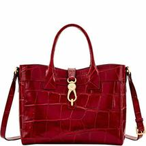 Dooney and Bourke Pembrook Large Amelie Tote Wine image 4