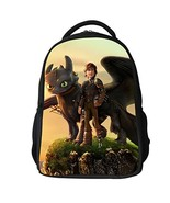 How to Train Dragon Bag Protagnist Cosplay Polyester Waterproof Backpack... - $35.81
