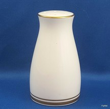 Noritake Gloria Salt Shaker White with Gold  ca 1970 (SALT ONLY) 6526 - $8.91
