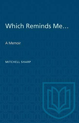 Which Reminds Me...: A Memoir (Heritage) [Paperback] Sharp, Mitchell