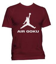 Air Goku Men Tee S-3XL Maroon - $18.00