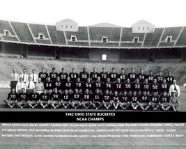1942 Ohio State 8X10 Team Photo Buckeyes Picture Ncaa Football National Champs - $3.95