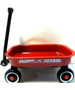 """Radio Flyer Little Red Outdoor Toy Wagon Kids 15"""" x 8"""" Display no box  - $14.49"""