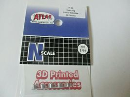 Atlas # 4002064 Beer Keg 5 Pieces 3D Printed Accessories N-Scale image 3