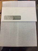 500 #10 TW REVERSE FLAP TINTED 24WW LEFT WINDOW ENVELOPES - $25.23