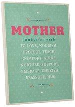 "Pingo World 0108QAO32FS ""Mother to Love, Cherish, Protect"" Inspirational... - $54.40"