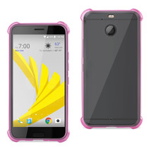 Reiko Htc Bolt Clear Bumper Case With Air Cushion Protection In Clear Ho... - $8.54