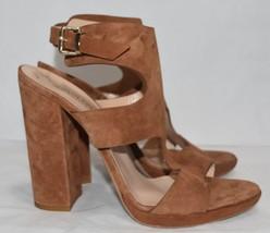 Kenneth Cole Black Label Tamera Suede Open Toe Heel, Women's Sz 10 M, West $295 - $295.00