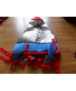Toddler Size 2-3T Metallic Silver Rocket Ship Space Astronaut Halloween ... - $35.00