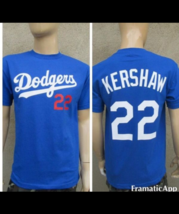 Los Angeles Dodgers Kershaw T-Shirt / Blue or White  - $17.99+