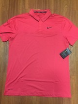 Nike Golf Dry Fit Color Block Polo Size Med M Red 890670 691 MSRP $65 NWT - $53.82
