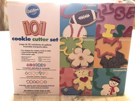 Wilton 101 Piece Cookie Cutter Set Cookies Crafts Food Colorful Gift - $10.58