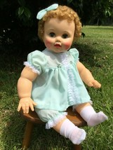 NEW DRESS, BLOOMER, RIBBON & SOCKS FOR YOUR BONNIE OR JOHNNY IDEAL PLAYP... - $25.93