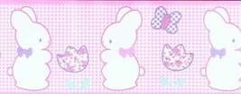 Bunny Rabbit Nursery Wallpaper Border BJC6682B Imperial - $16.99