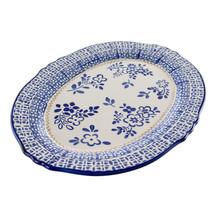 Meritage Botany 14.5 Inch Oval Stoneware Serving Platter - $50.18
