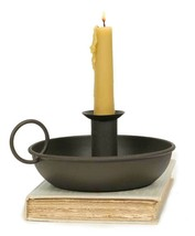Flat Dish Candle Holder Metalware Decoration Mother's Day Gift Idea Rust... - $15.90