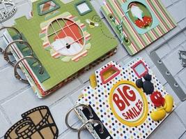 Camera Die Set. Elizabeth Craft Designs. Mini Album  image 2