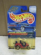 HOT WHEELS- TEE'D OFF- VIRTUAL COLLECTION- NEW ON CARD- L149 - $2.15