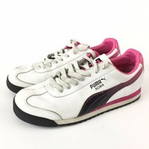PUMA Roma Womens Size 7.5 Shoes Wire & Pink Sneakers 347673 01 Non Marki... - $24.07