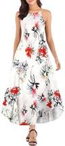 Haola Women's Summer Sleeveless Casual Loose Maxi Dress Beach Spaghetti ... - $34.38+