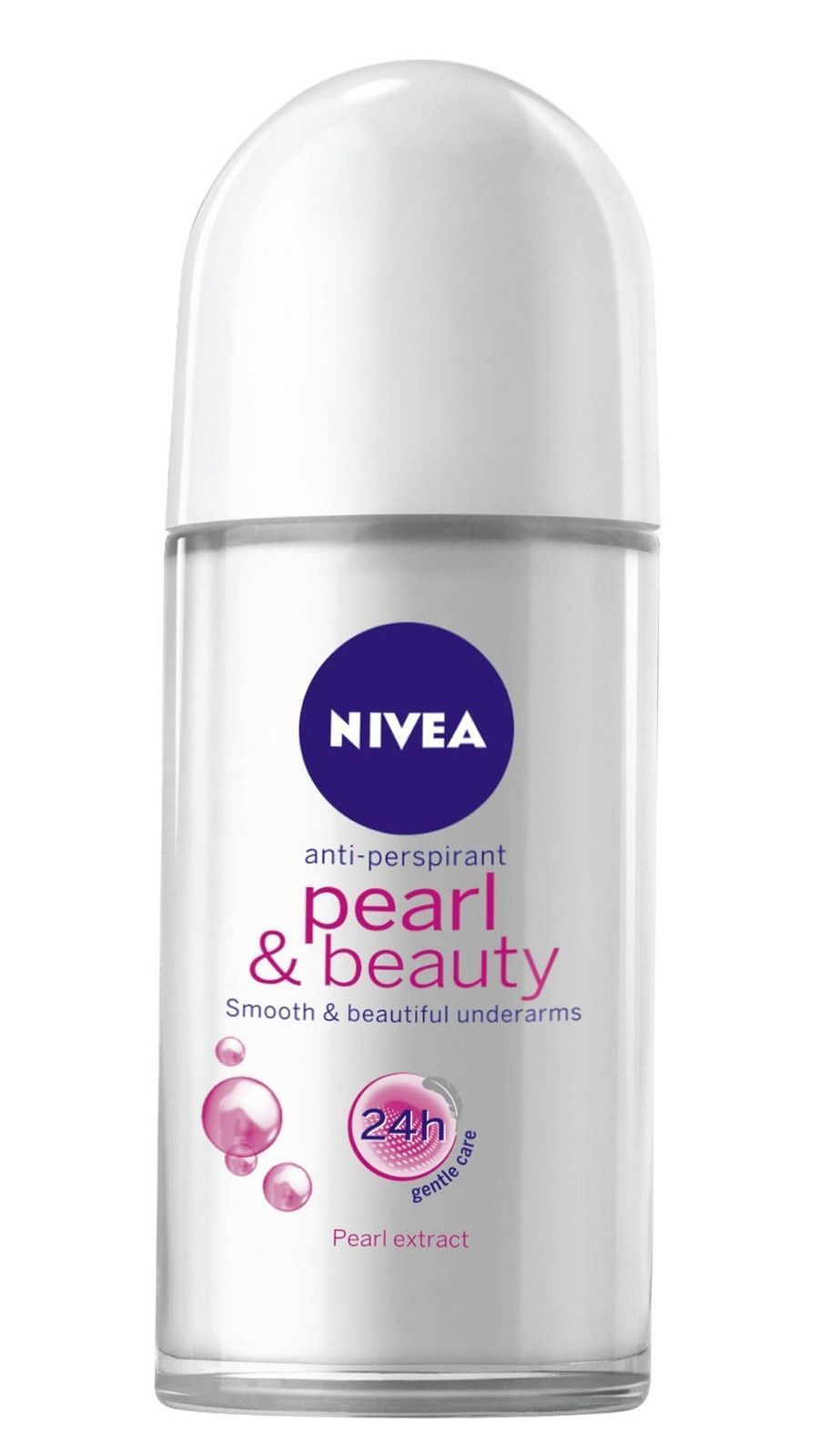 Nivea Pearl & Beauty Roll-on Smooth Underarms Deodorant 50 Ml (pack of 2)