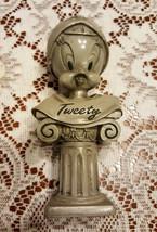 Warner Bros Tweety Bust Figurine Gray Tweety Bird Collectible Statue - $23.75